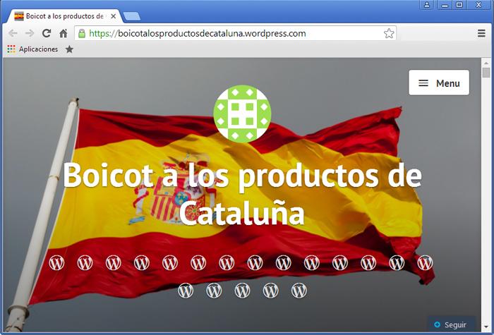 Boicot als productes de Catalunya